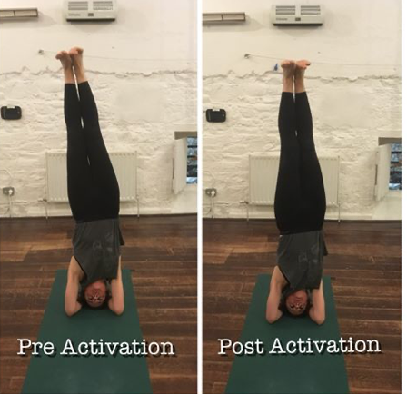 The Power of Self Activation – Headstand Success.
